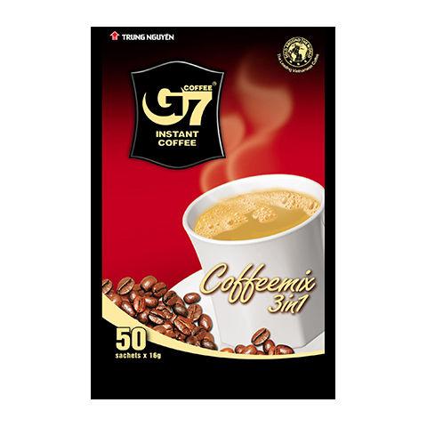 カフェオレ インスタント 【50袋入り】 G7 3in1 instant coffee 【正規輸入品】