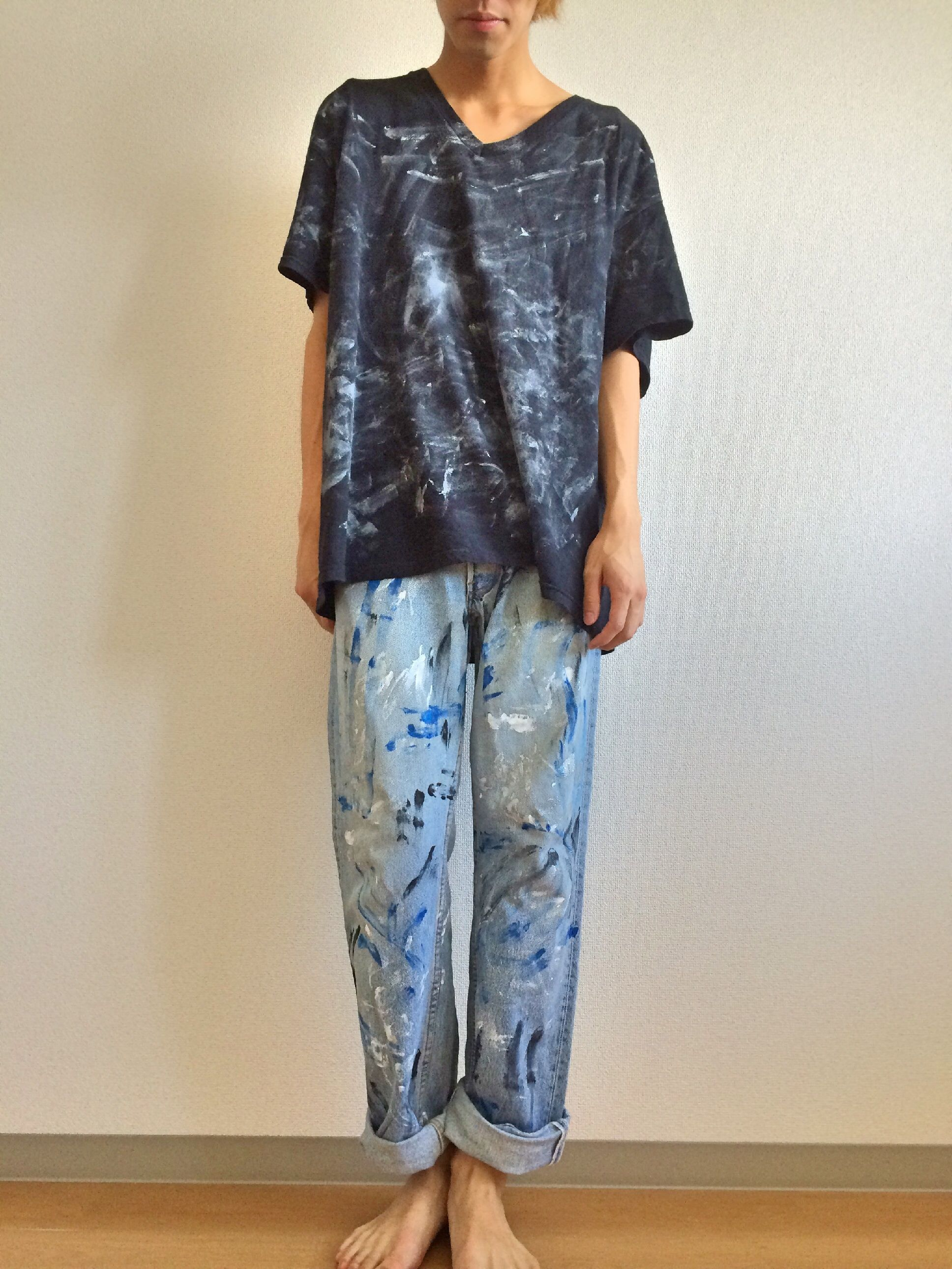 L-1/Paint Denim