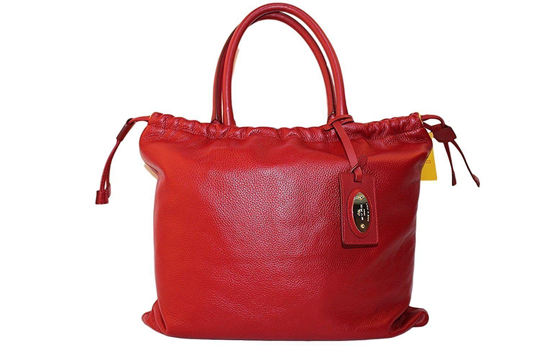 正規品新品ETROエトロ巾着型トートバッグ レッド27万 No.15056000