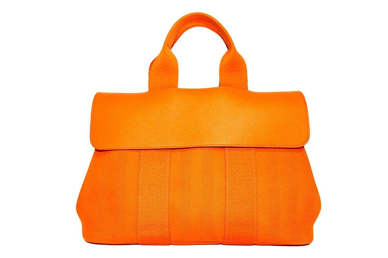 正規品新品エルメス バルパライソPM シェブロン×オレンジ ハンドバッグ24万 新品 No.16079280 未使用品