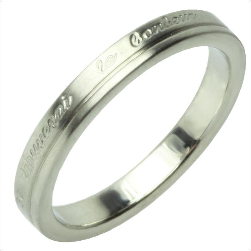 指輪 ステンレス リング◆G-ブランド ル・ボナーリング シルバー◆SR-127