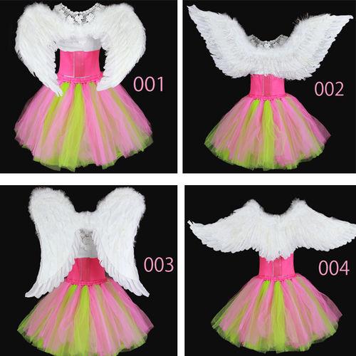 ★Lサイズ 天使の羽根★★大人気発表会衣装!!★(C0018900ーA)可愛い Angel エンゼル翼!選べるデザイン