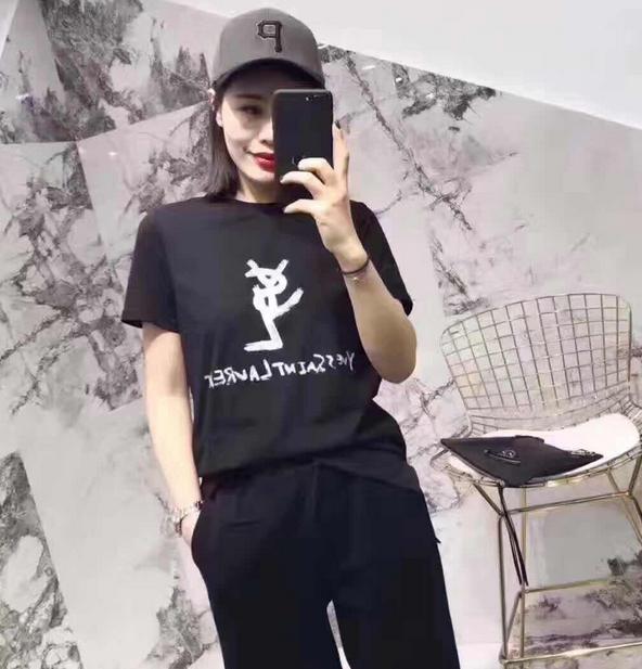 新品 Yves Saint-Laurent /イヴ・サンローラン 人気美品 Tシャツ オシャレ