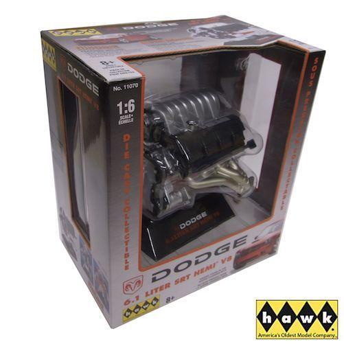 Dodge Hemi 6.1 Liter SRT V8  1/6  ダッジ エンジン 模型