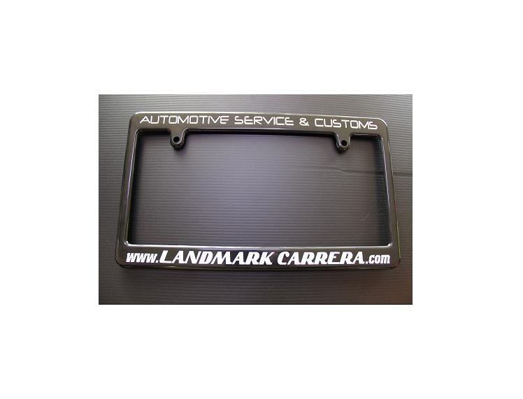 LANDMARK CARRERA オリジナルライセンスフレーム(BLACK)