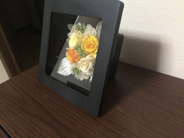☆オレンジムース☆バラのアレンジメント
