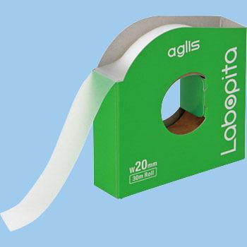 ラボピタ(自己粘着型密閉テープ) 20mm幅x30M巻 10cm毎ミシン目入
