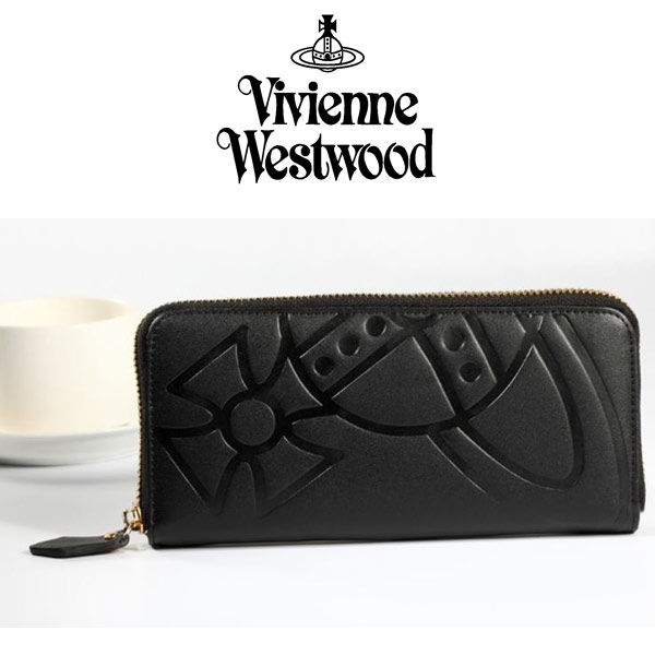 Vivienne Westwood ヴィヴィアンウエストウッド財布 長財布 レザー [VW-09]