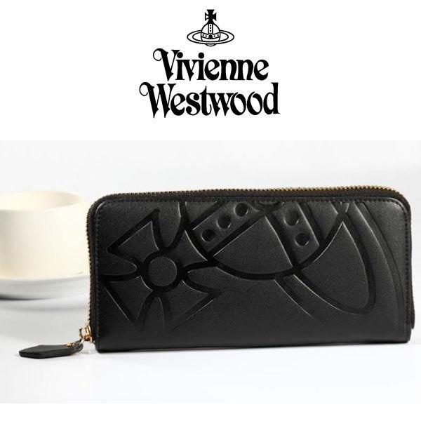 [激安・数量限定]Vivienne Westwood  ヴィヴィアンウエストウッド財布 長財布 レザー [VW-09]