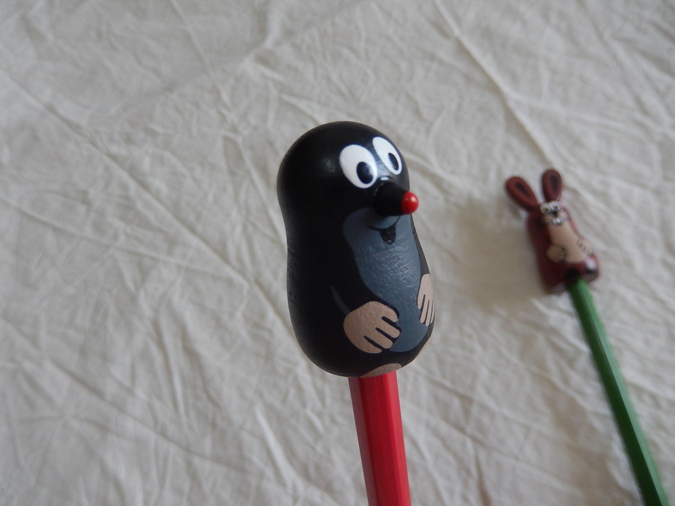 Krtekクルテク木製キャップ付き鉛筆