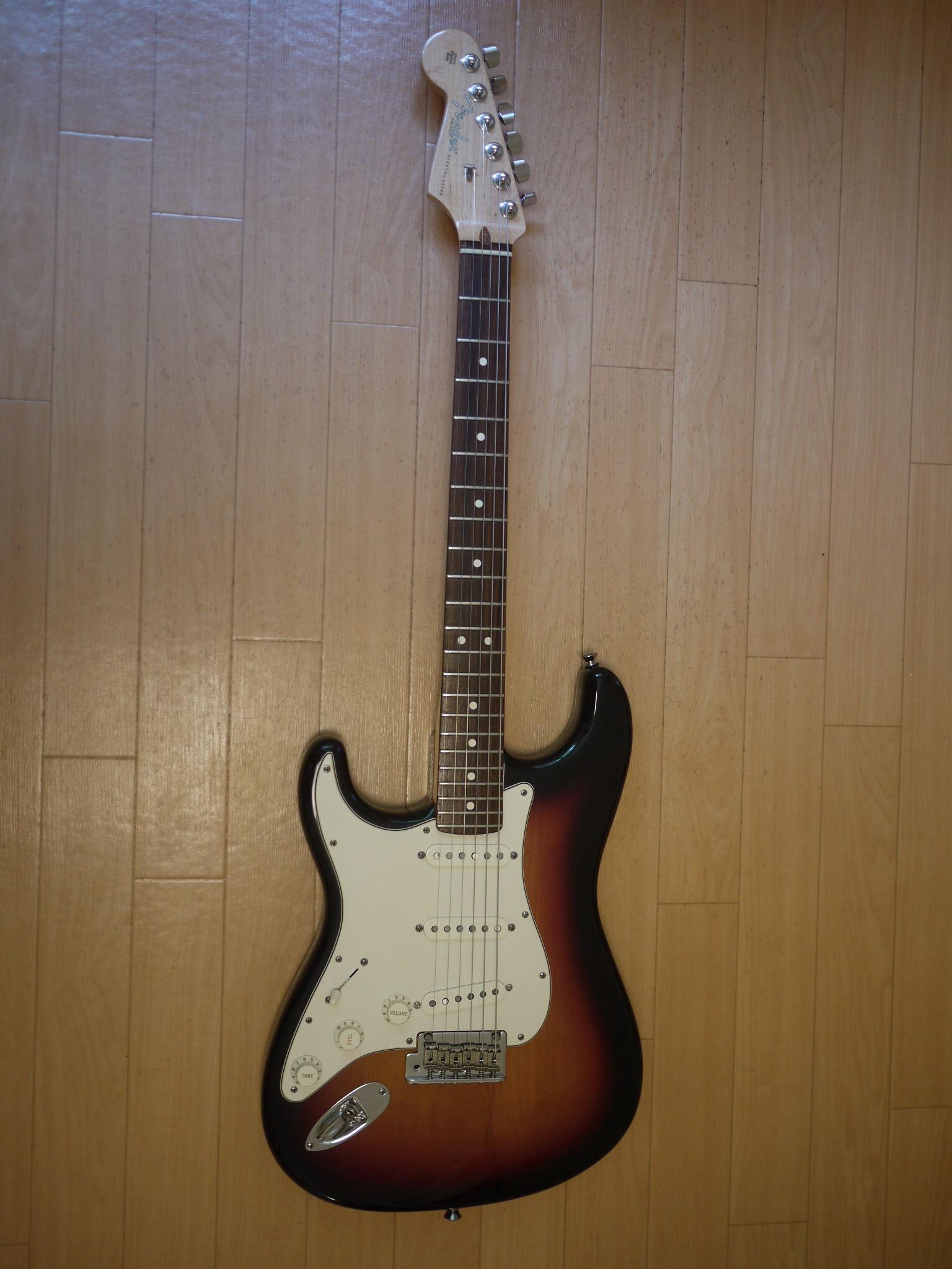 [セール]Fender USA American Standard Stratocaster LH レフティ