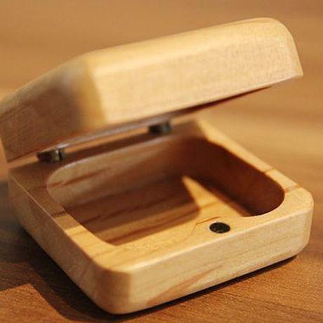 木製アクセサリーケーケース ナチュラル系 2個セット