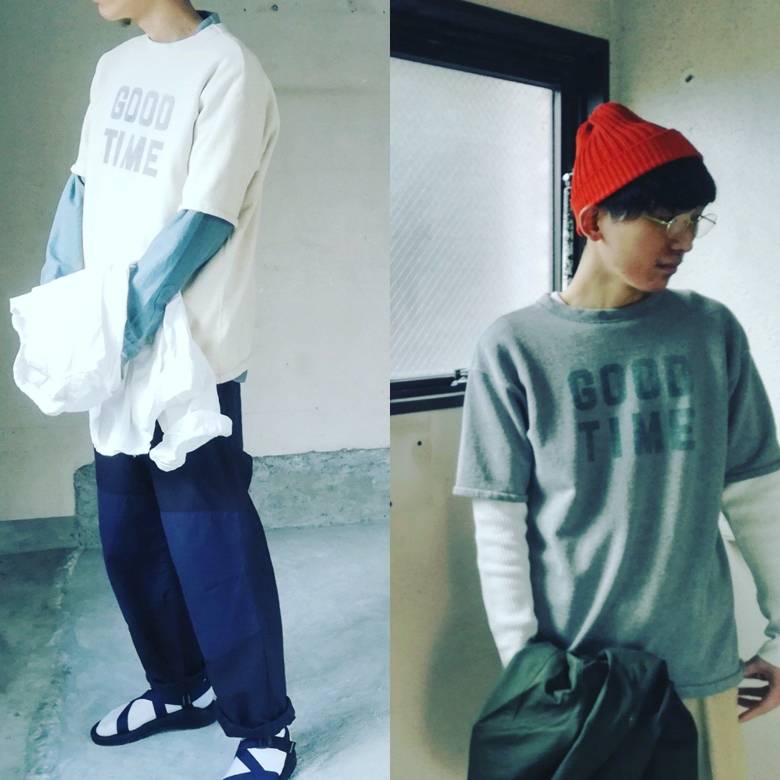 "FULLCOUNT "" SHORT SLEEVE SWEAT TEE "" GOOD TIME "" メンズ/スウェット/半袖"