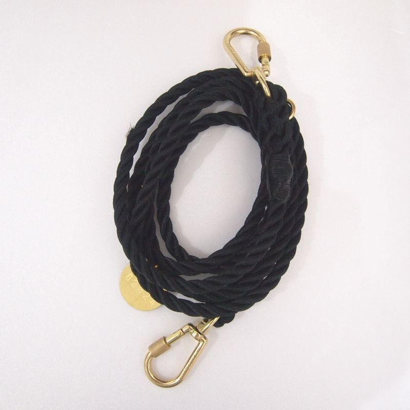 Found My Animal  ADJUSTABLE DOG LEASH(BLACK)