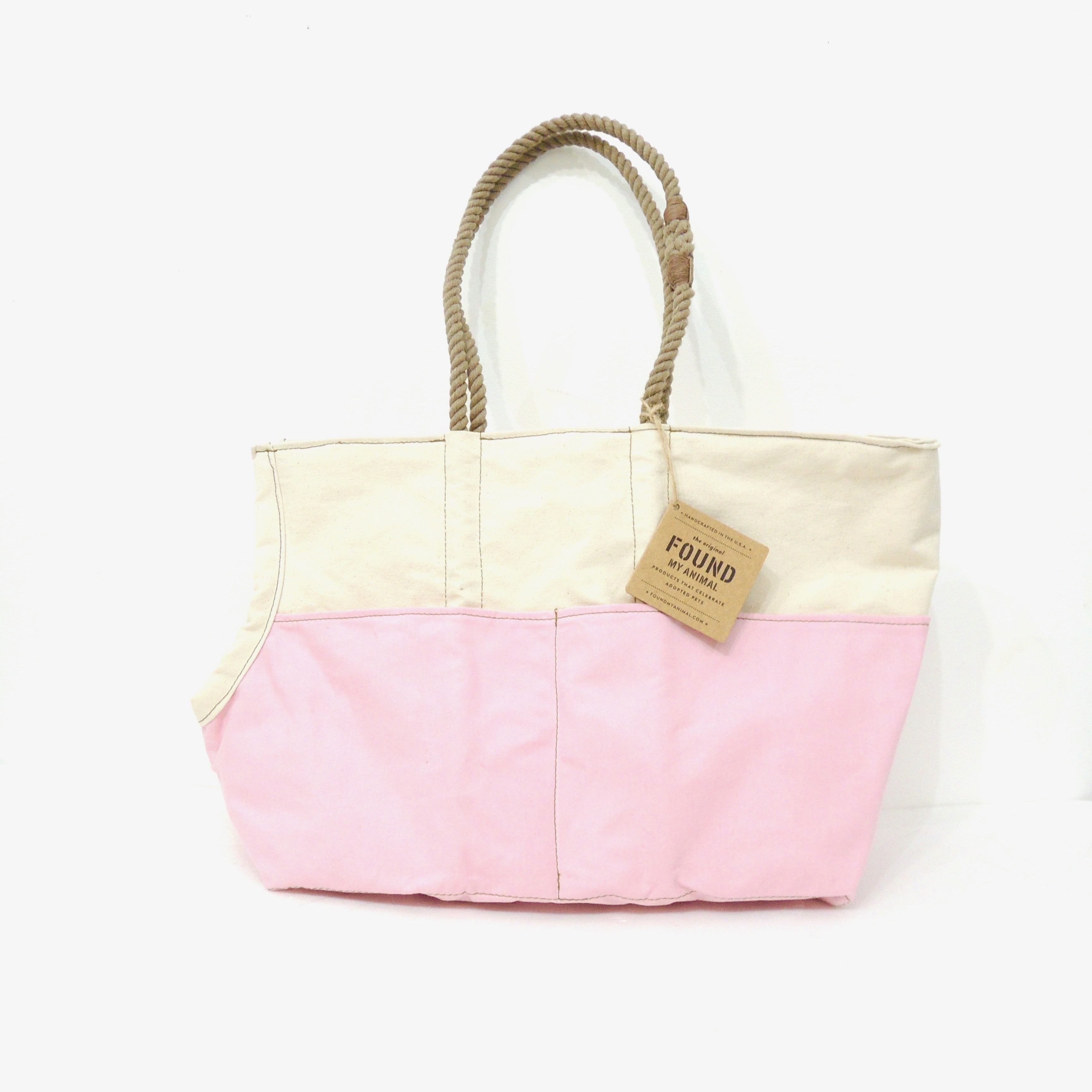 Found My Animal CARRIER  Cream/Light Pink