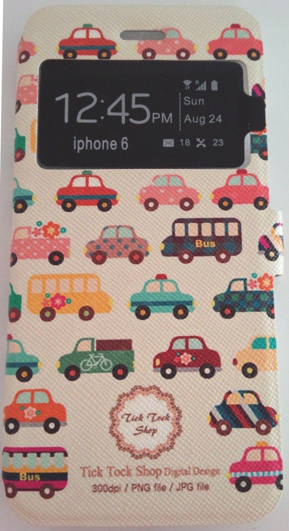 iphone6 ケース/4.7インチ/車のデザインカバー