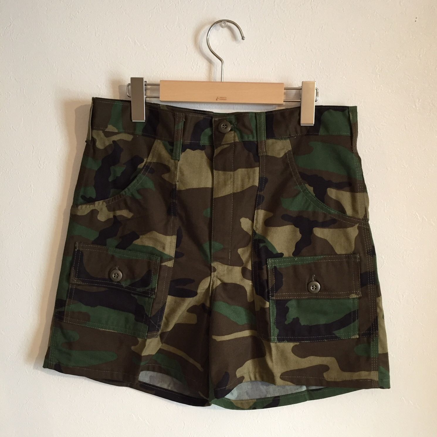 【GUNG HO】CAMO BUSH SHORTS