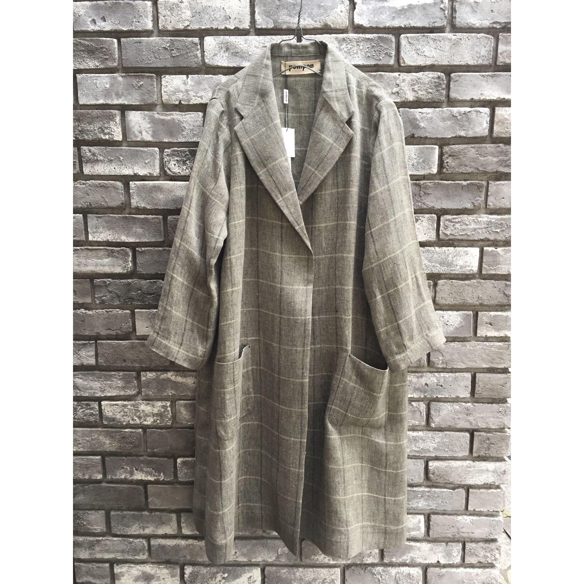 【dahl'ia】 Linen Long Coat