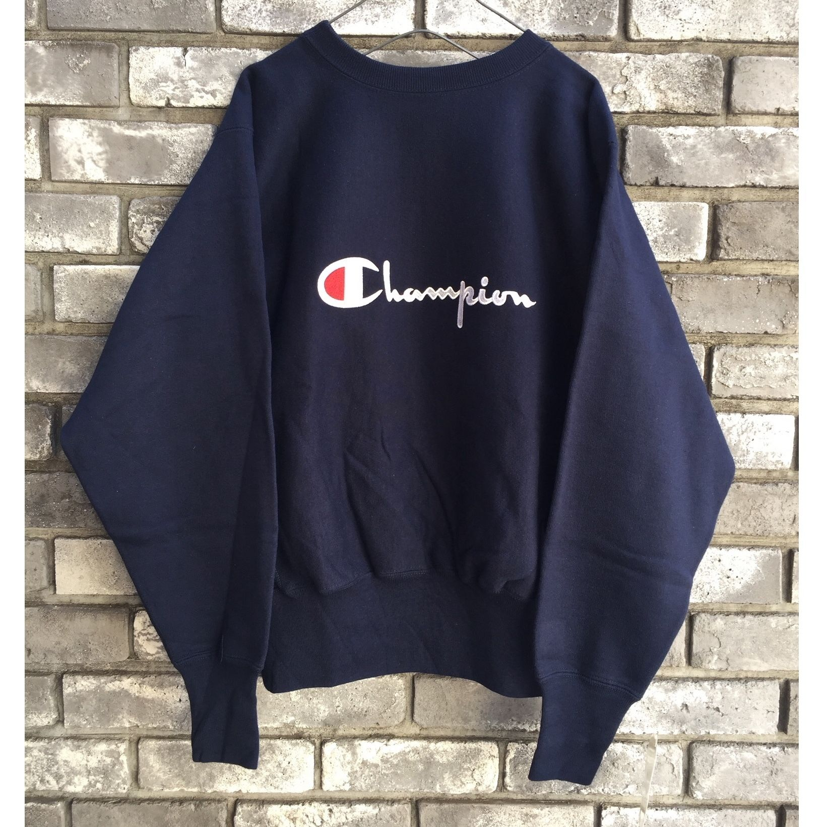 【Champion】 90s Dead-Stock Reverse Weave Crew Neck Sweat   チャンピオン デッドストック リバースウィーブ クルーネック スウェット