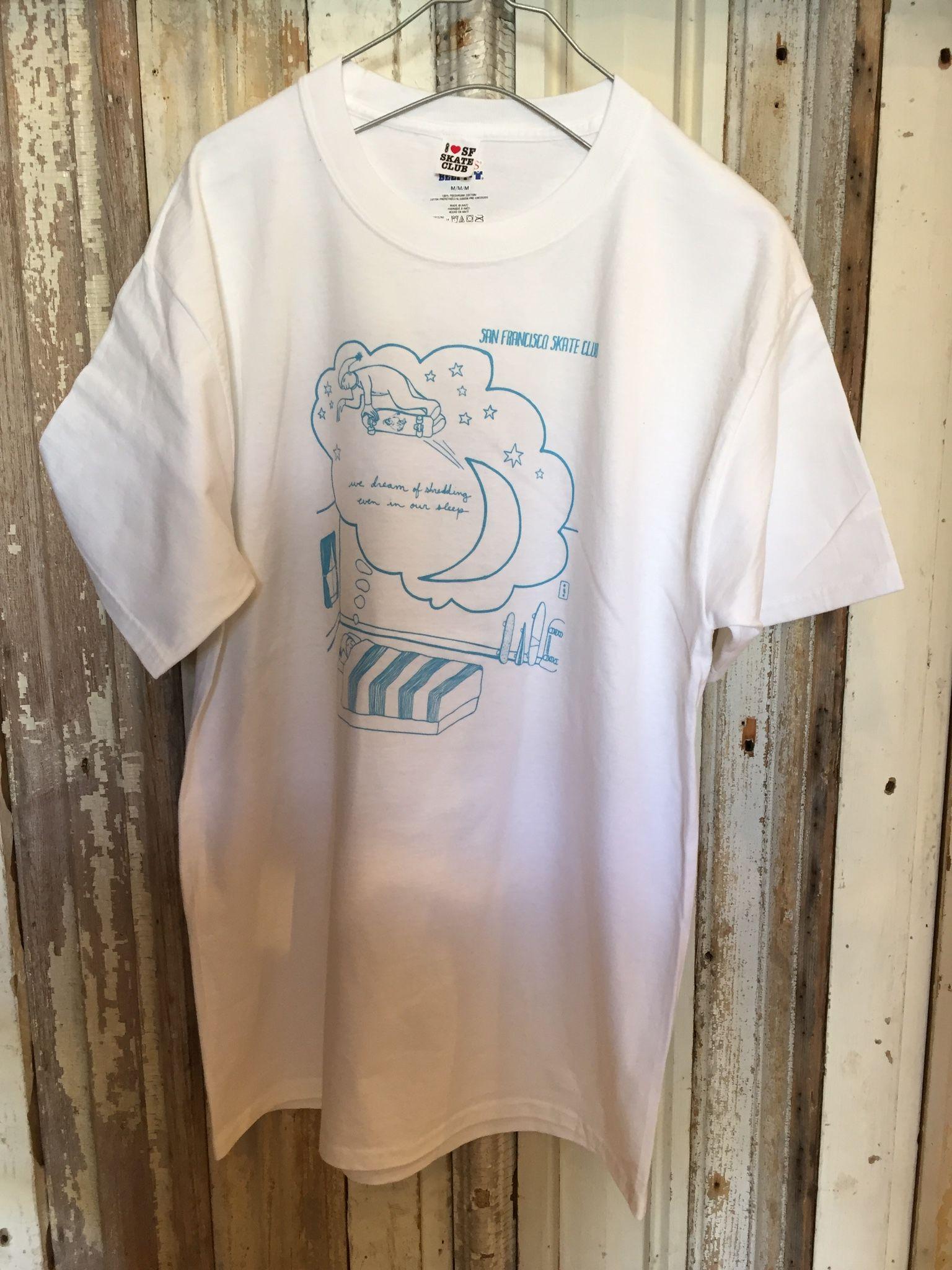 【SANFRANCISCO SKATE CLUB】Tシャツ タイプA
