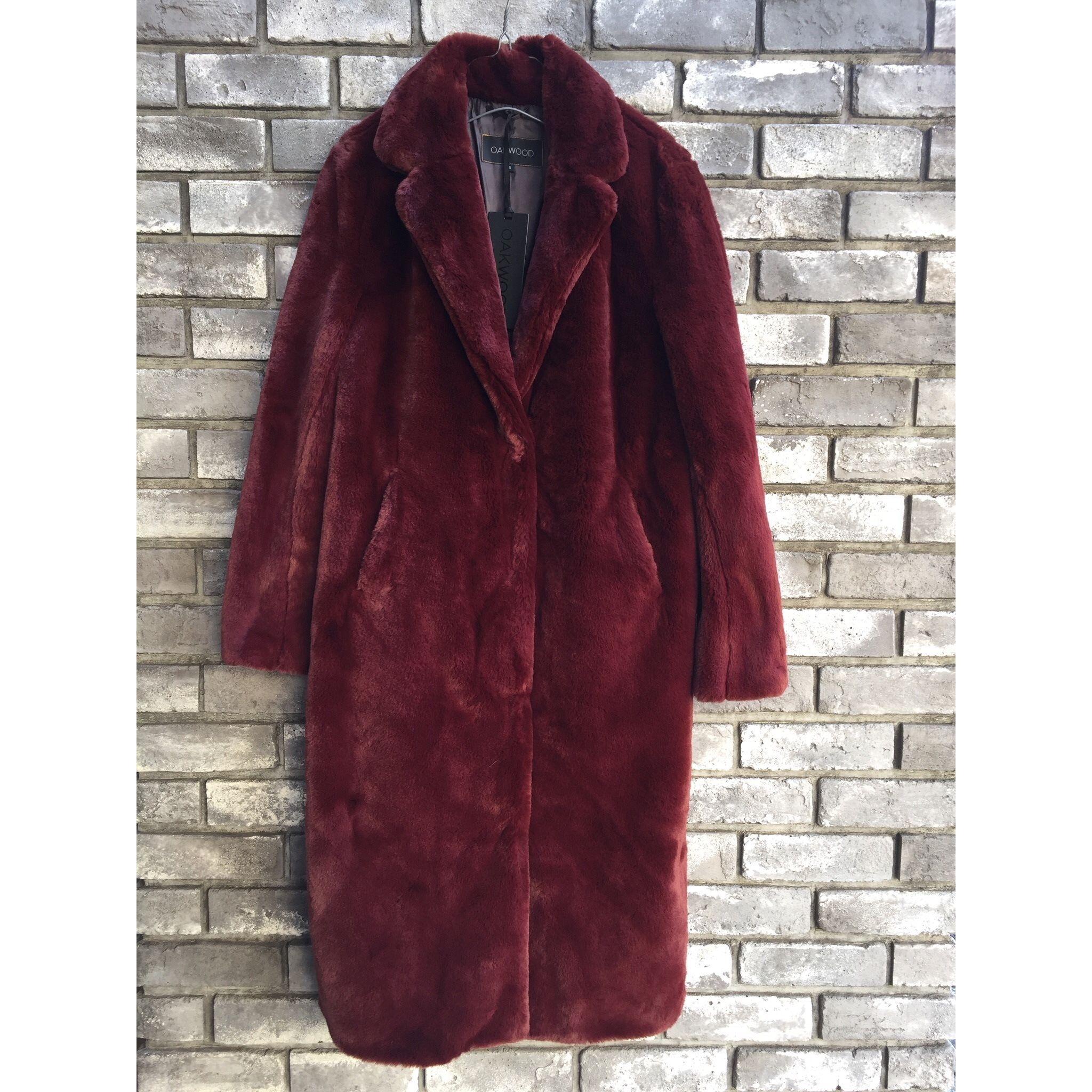 【OAKWOOD】 fur long coat