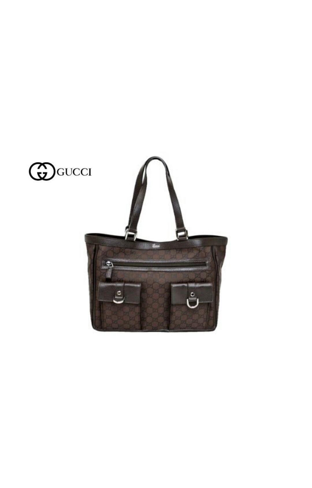 GUCCI ナイロントートバッグ
