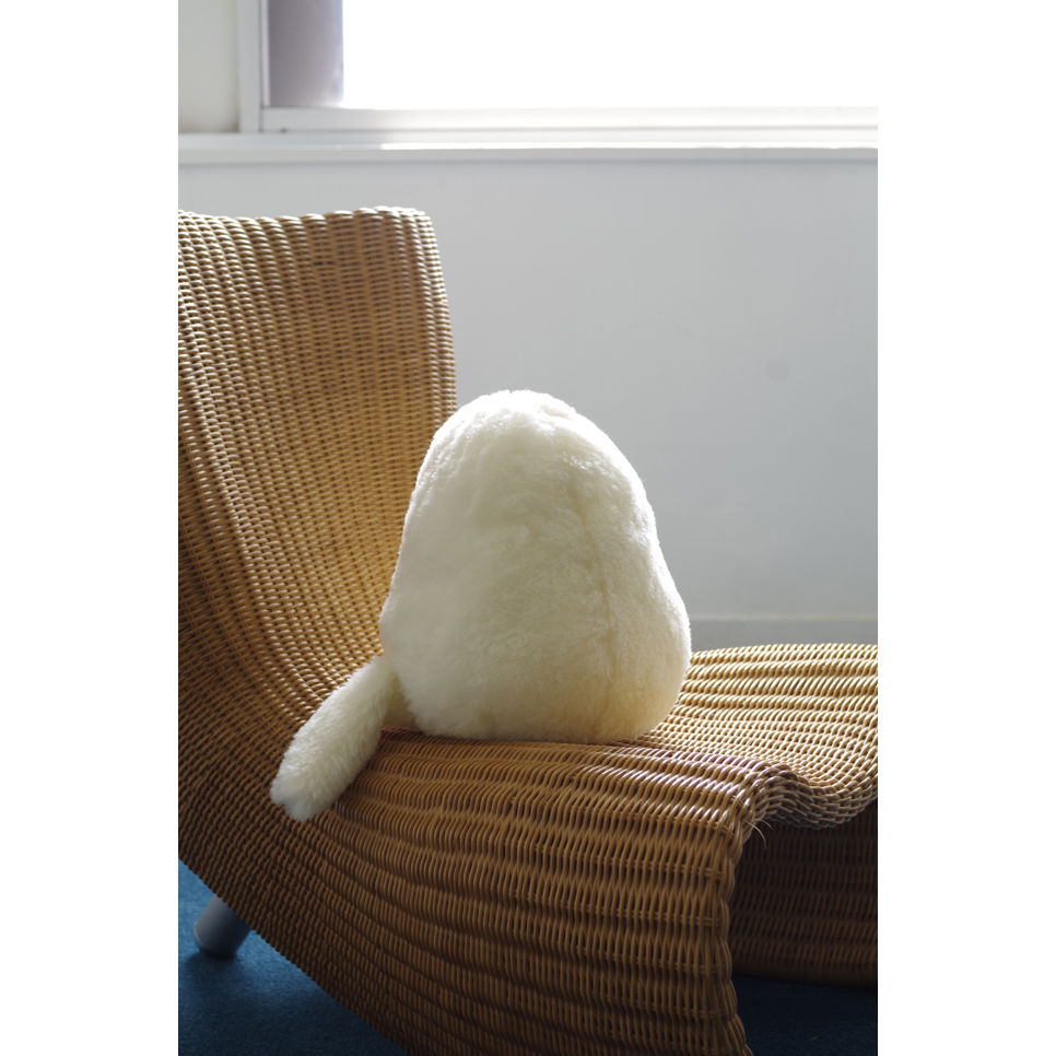 SOFT SCULPTURE-WASHABLE MERINO WOOL FUR