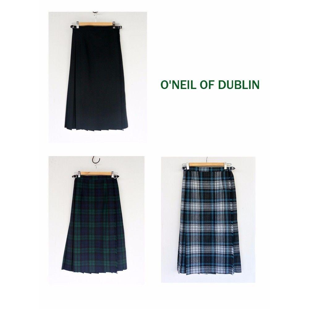 O'NEIL OF DUBLIN オニールオブダブリン EASY KILT MIDI(キルトスカート)75㎝丈