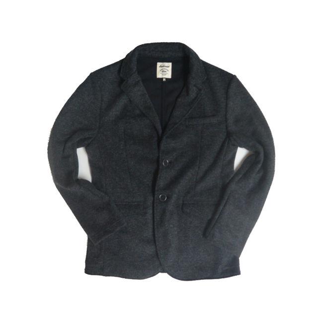 <SALE>Jackman ジャックマン JM7710 Jersey Jacket (Charcoal)