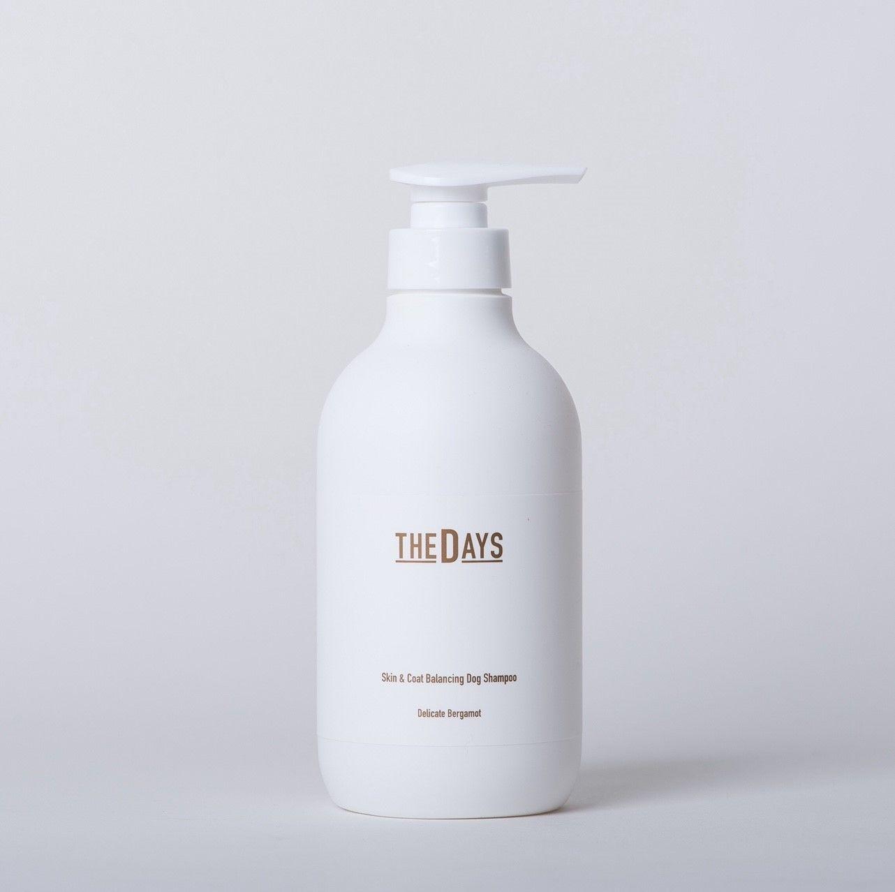 500ml】THE DAYS 犬用シャンプー ベルガモットの香り/Natural DOG Shampoo