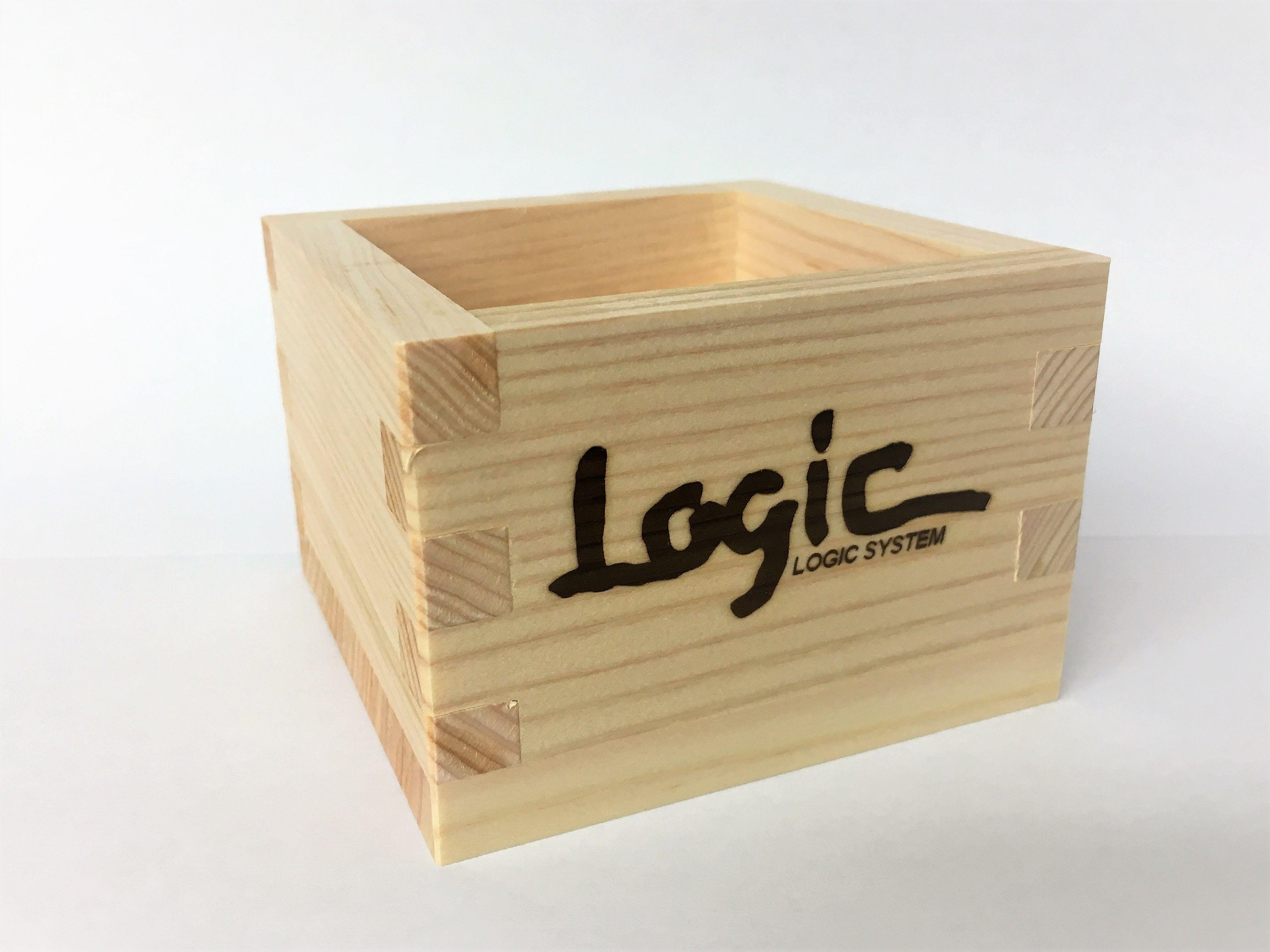 Logic System × 菊姫  一合枡
