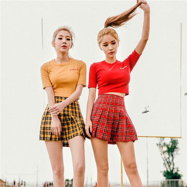 秋物新商品 テニススカート プリーツスカート ミニスカート Aタイプ スカパン ミニスカート チェックプリーツ 2017 送料無料  TAGX10142