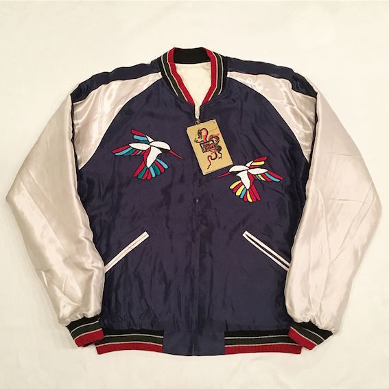 "【 tr.4 suspension × TAILOR TOYO × JOURNAL STANDARD 】""Hummingbird"" Jacket ( BLUE × WHITE )"
