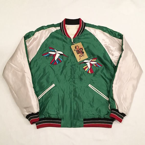 "【 tr.4 suspension × TAILOR TOYO × JOURNAL STANDARD 】""Hummingbird"" Jacket ( GREEN × WHITE )"