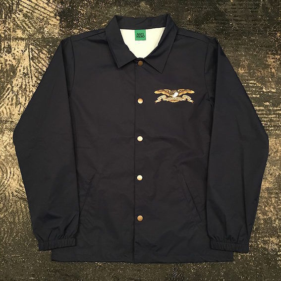 "【 ANTI HERO 】""STOCK EAGLE"" COACH JACKET ( NAVY )"