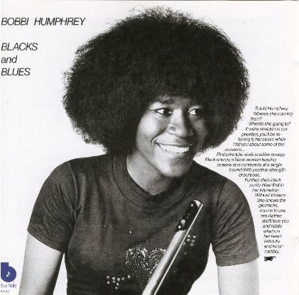 BOBBI HUMPHREY / BLACKS AND BLUES 輸入盤/品番7243 4 98542 2 2/盤質B