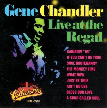 GENE CHANDLER / LIVE AT THE REGAL / 輸入盤/品番COL-CD-5516/盤B/800円