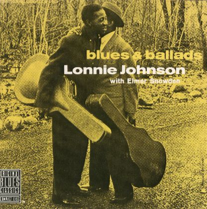 LONNIE JOHNSON WITH ELMER SNOWDEN/BLUES & BALLADS 輸入盤/品番OBCCD-531-2/盤質B