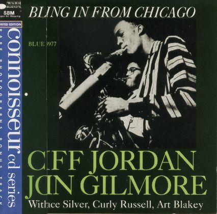 CLIFF JORDAN&JOHN GILMORE / BLOWING IN FROM CHICAGO 輸入盤/品番CDP7243 8 28977 2 9/盤質B