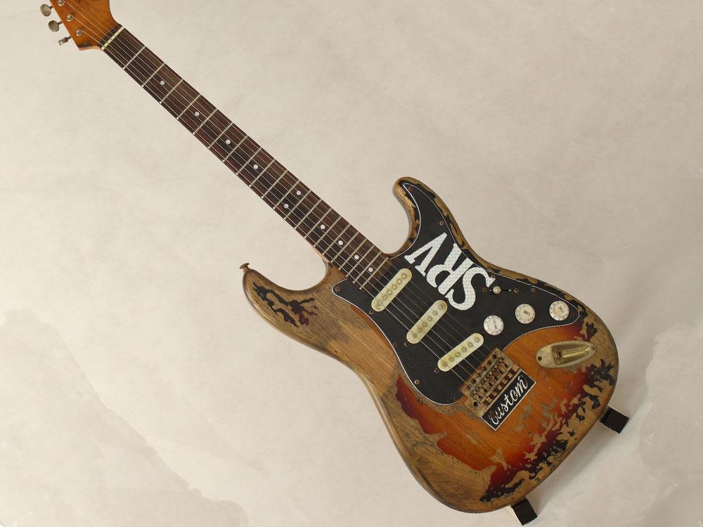 レリック加工済 ヴィンテージ風ギター 40インチ 本体のみ