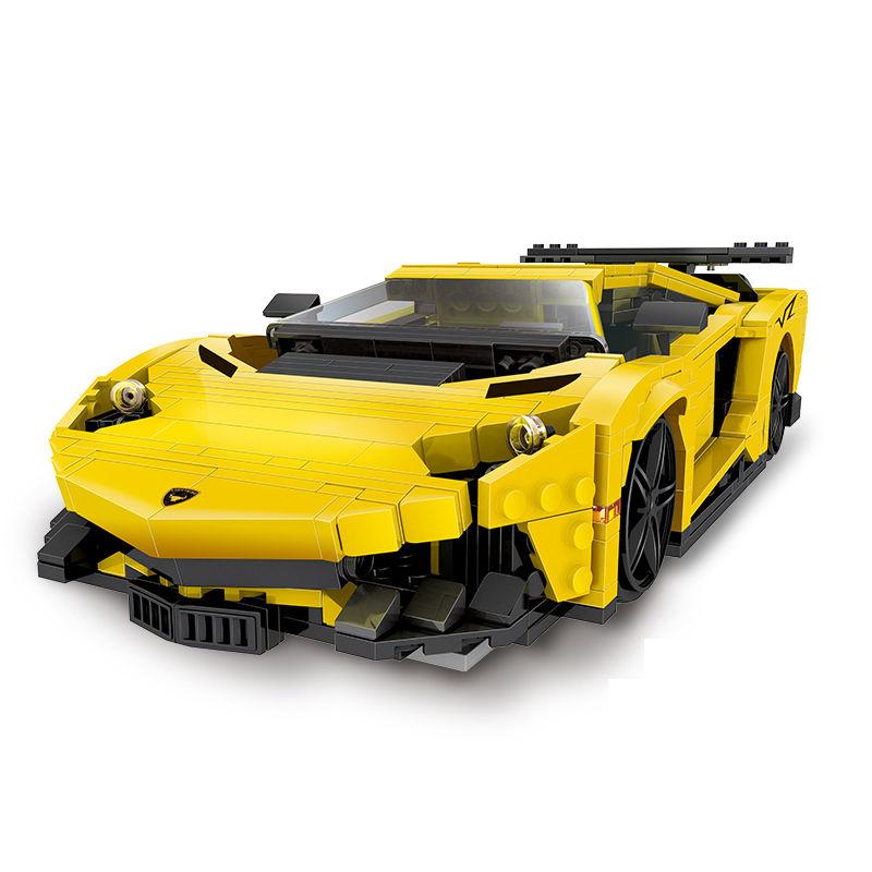 レゴ互換 レーサー ランボルギーニ・ガヤルドLP560-4 8169 doinbby