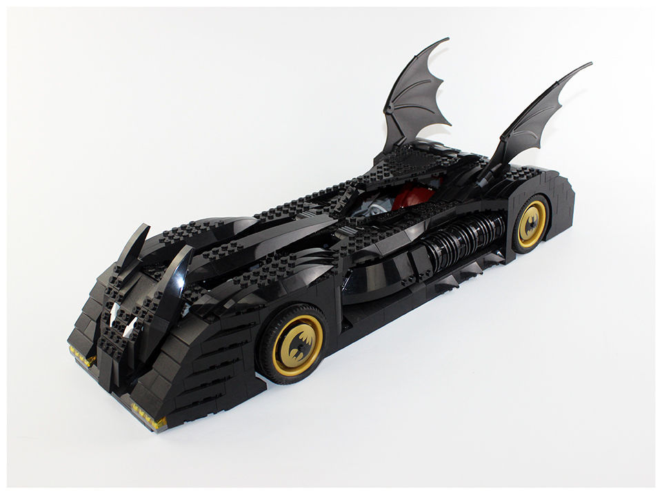レゴ (LEGO)  バットマン バットモービル風 互換ブロック 究極のコレクター版 7784