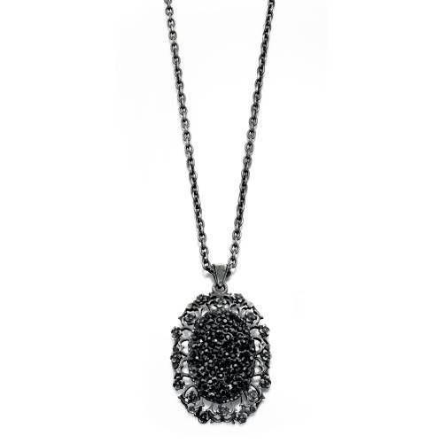 フィオレッリ コスチューム ネックレス druzy style pendant