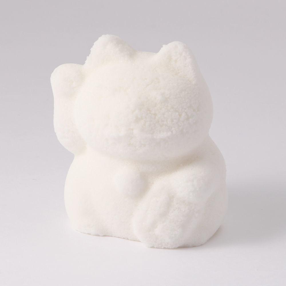 塩の手作り大招き猫(右手でお金と福を招く)品番1953-2