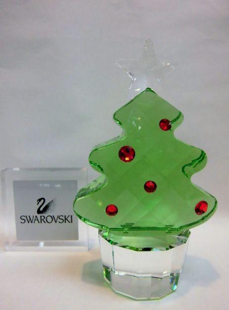 swarovski(スワロフスキー)クリスタル クリスマスツリー
