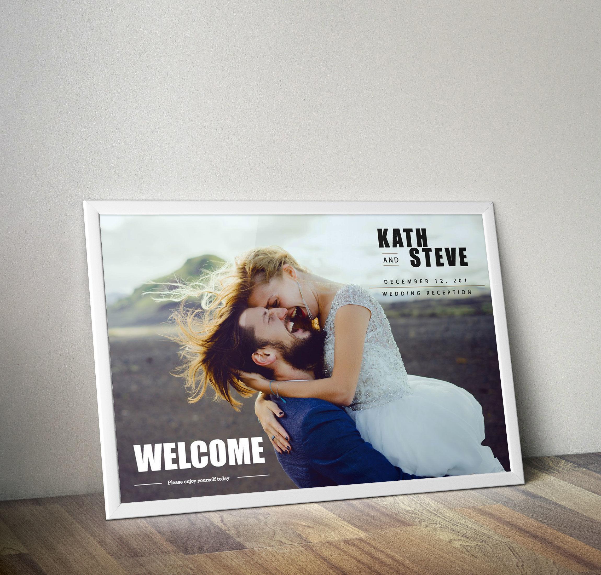 送料込◆写真入りWelcomeボード◆商品番号LP180036WE