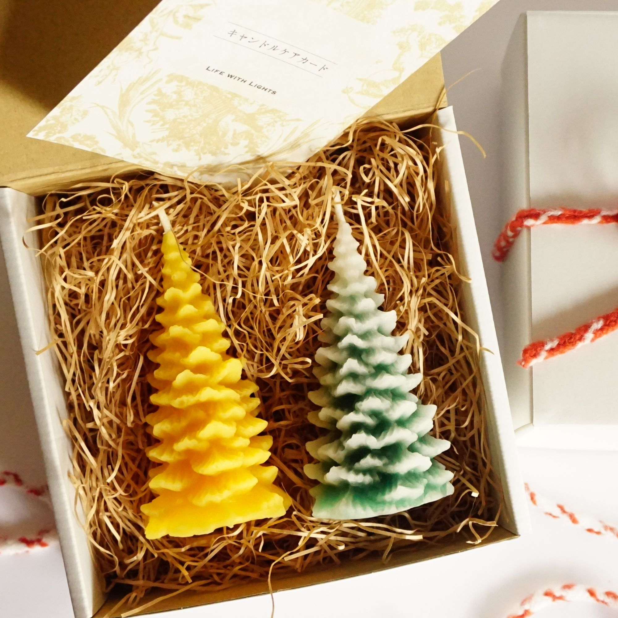 mominoki candle box for gift