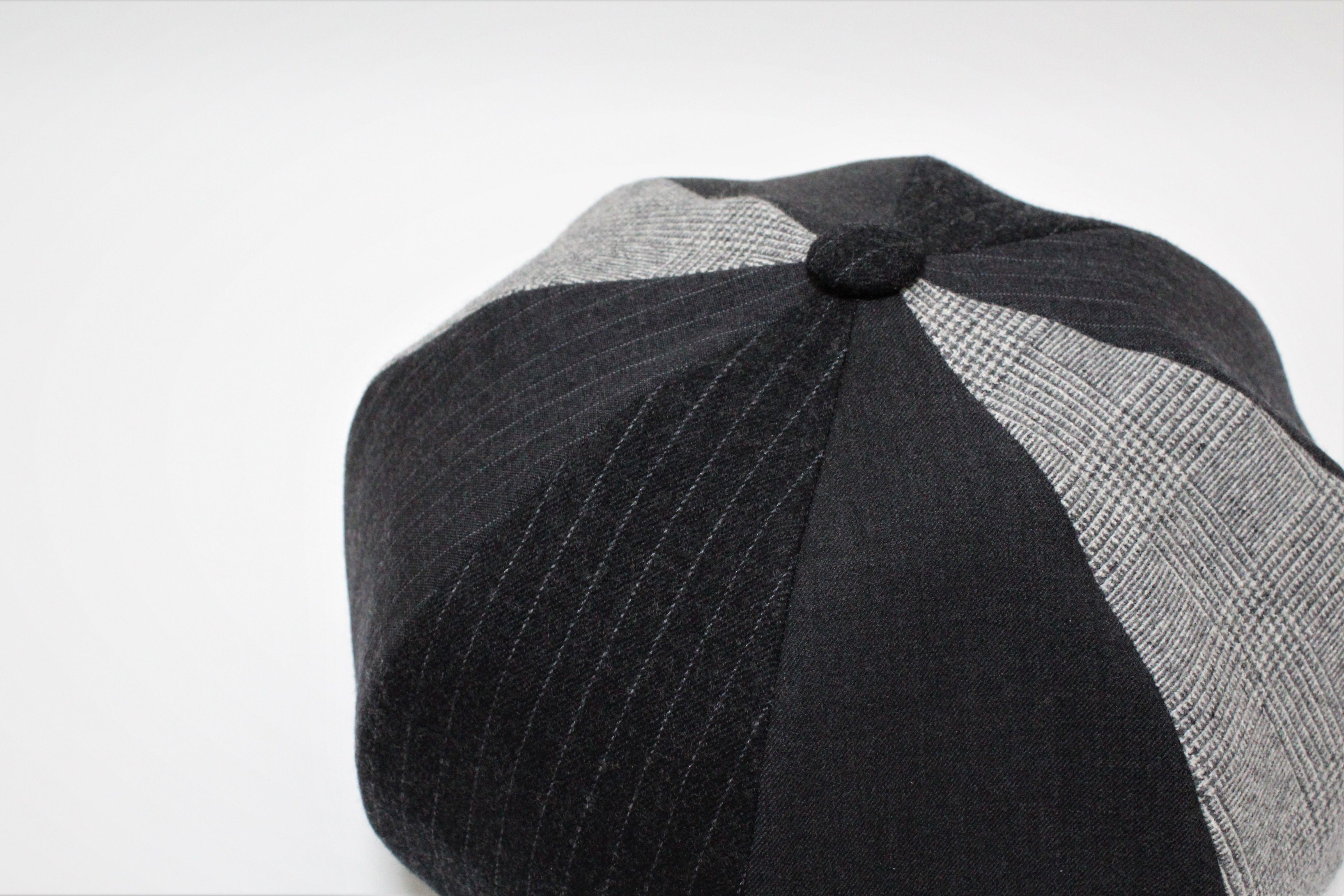 mix big beret ( man )  gray