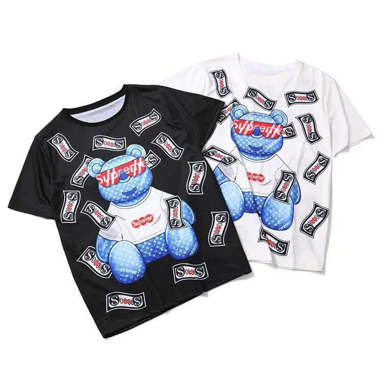 【Madoka STORE】モスキーノ  トップス   Tシャツ 半袖    ima-5005