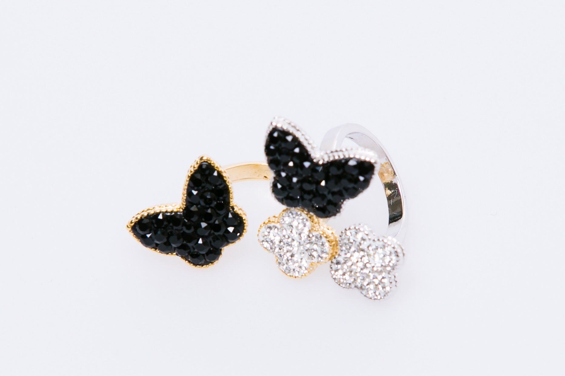 butterflyflower ring